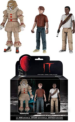Funko It Horror - Wig Pennywise, Mike, Stan Collectible Figure, Multicolor