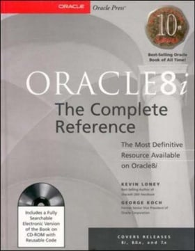 Oracle8i: The Complete Reference (Book/CD-ROM Package)