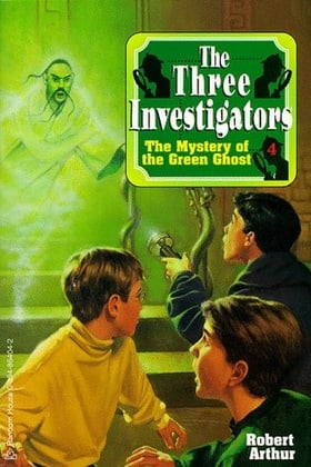 The Mystery of the Green Ghost (Three Investigators Classics)