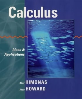 Calculus: Ideas and Applications, Textbook and Student Solutions Manual