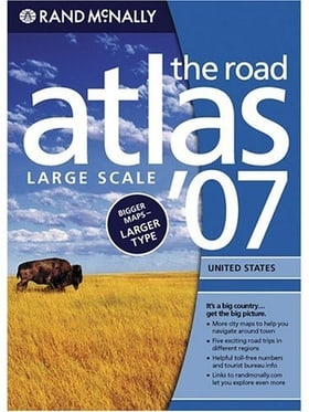 Rand McNally 2007 Road Atlas: United States-Large Scale (Rand Mcnally Large Scale Road Atlas USA)