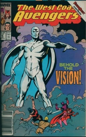 Avengers West Coast Visionaries - John Byrne, Vol. 1: Vision Quest (Prelude to Avengers Disassembled)