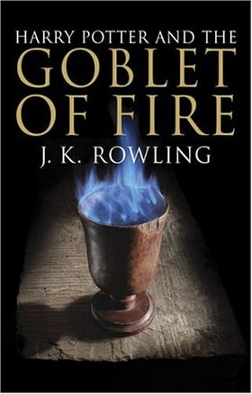 Harry Potter and the Goblet of Fire Adult Cloth