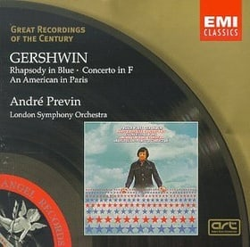 Great Recordings Of The Century - Gershwin: Rhapsody in Blue, Concerto in F, American in Paris