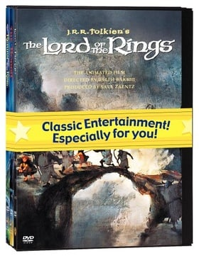 J.R.R. Tolkien Animated Films Set (The Hobbit/The Lord of the Rings/The Return of the King)